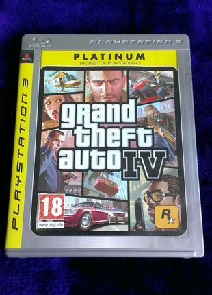 GTA 4 для PS3