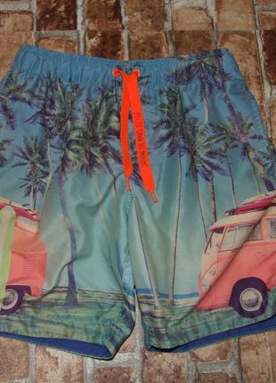 Пляжные шорты мальчику 12 - 14 лет
