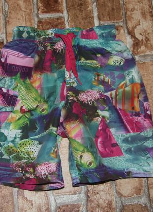 Пляжные шорты мальчику 2 - 3 года