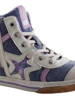 Viking кроссовки кроссы высокие  25-25.5 см