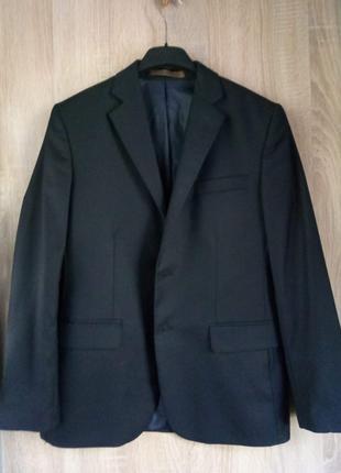 Пиджак черный подростковый