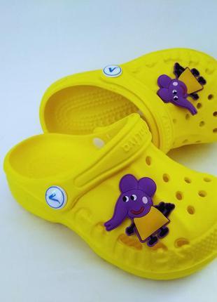 Детские сланцы кроксы
