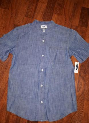 Летняя рубашка old navy  l 10-12