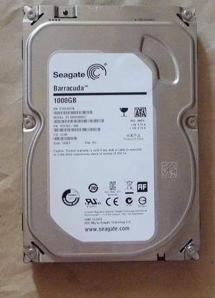 HDD sata Seagate 1 Тб ST1000DM003 - SATA3