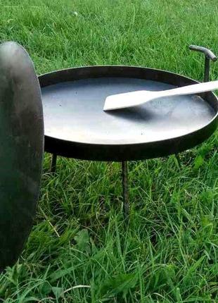 Сковорода из диска бороны