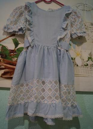 Платье на девочку 3 годика