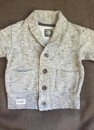 Кофточка кофта свитер кардиган на мальчика 74-80 см