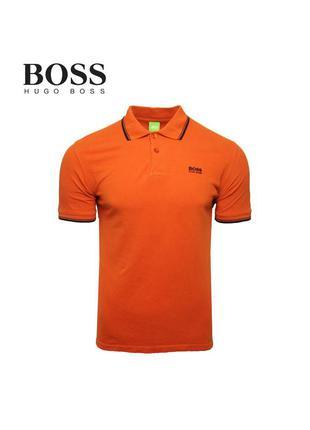 Мужская polo футболка hugo boss оригинал