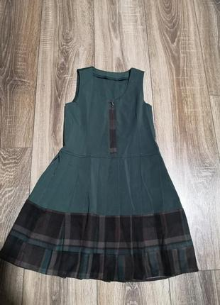 Школьная форма пиджак сарафан 1-2 класс