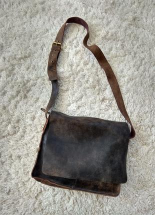 Мужская кожаная сумка Италия