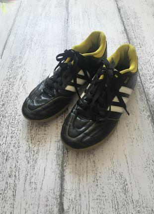 Крутые кроссовки для футбола бампы  бутсы adidas размер 37,5{2...