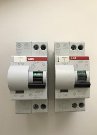 Дифференциальный автомат ABB DS941-AC С16