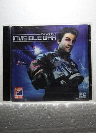 Диск с игрой для ПК | Deus Ex: Invisible War (2CD)