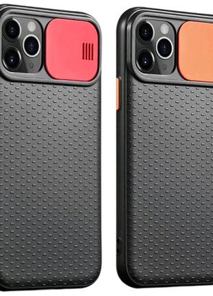 Чехол со шторкой защищающей камеру для Apple iPhone 11 Pro Max