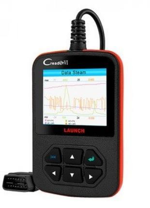 Сканер диагностики авто Launch Creader VI OBD2