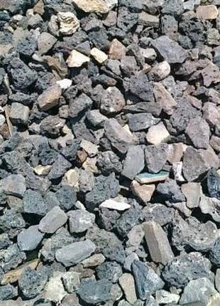 Щебень бой кирпича строительный мусор вторичный щебень