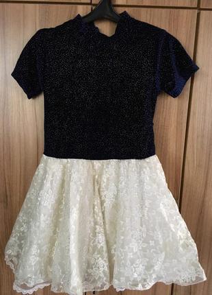 Платье для девочки ,  праздничное вечернее нарядное