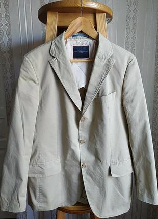 Оригинал брендовий котоновий мужской клубний пиджак