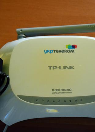 Wi-fi роутер TP-LINK модем УкрТелеком