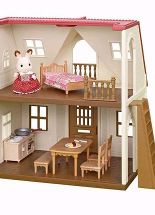 Дом кролика Сильваниан фемелис Calico Critters Red Roof Cozy