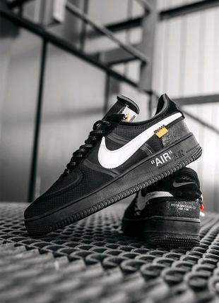 Кроссовки Nike Air Force 1 Off-White Black
