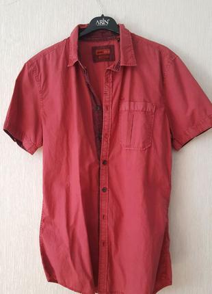 Классная брендовая рубашка новая Emilio Adani