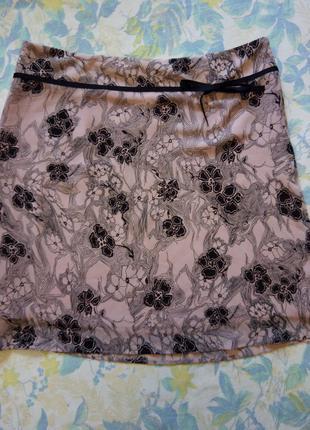 Летняя шифоновая юбка Marks & Spencer