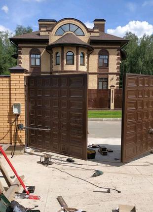 Ворота с филенкой в Одессе