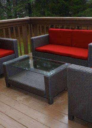 Мебель для сада и дома из искусственного ротанга