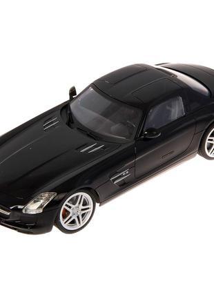 Машинка Mercedes-Benz SLS Black-White