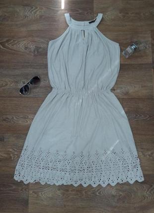 Нарядное летнее платье трикотажное, сарафаен фирмы and l-xl 7167