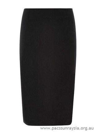 Шерстяная юбка карандаш с завышенной талией классическая юбка ...