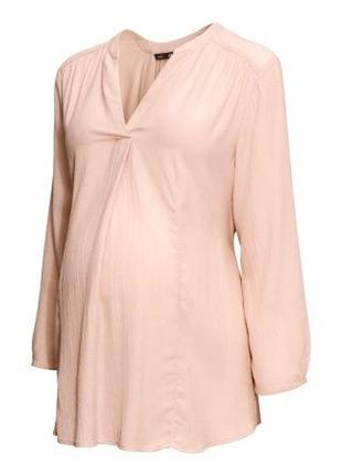 Блузка для беременных мам длинный рукав h&m