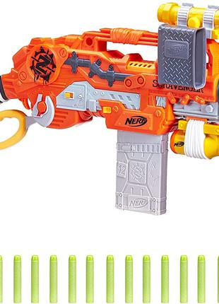 Нерф Скраванжер Nerf Zombie Strike Survival System Scravenger