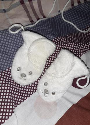 Варежки для  новорождённого малыша