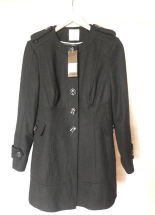 Демисезонное пальто  шерстяное  tu 816134