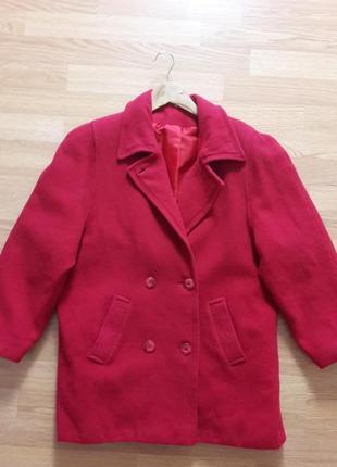 Xl/50 шерстяное пальто 111660