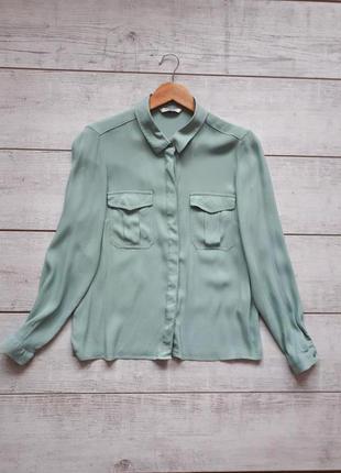 Блузка длинный рукав вискоза1185