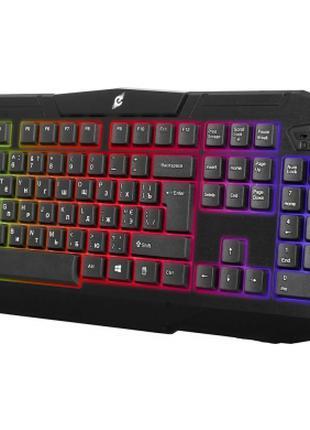 Игровая клавиатура ERGO KB-620 с подсветкой мембранная USB провод
