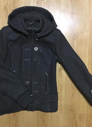 Куртка-пальто/шерстяная куртка укороченая