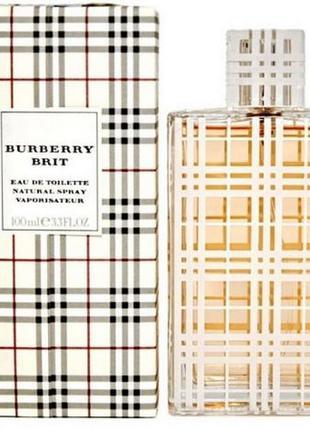Burberry Brit Natural Spray 100мл туалетная вода женская спрей