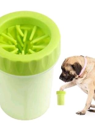 Лапомойка, лапомойка для собак, лапомойка для животных, стакан дл