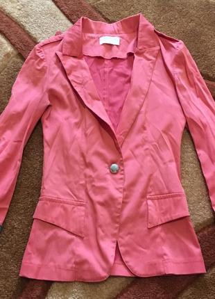 Пиджак жакет на одну пуговицу