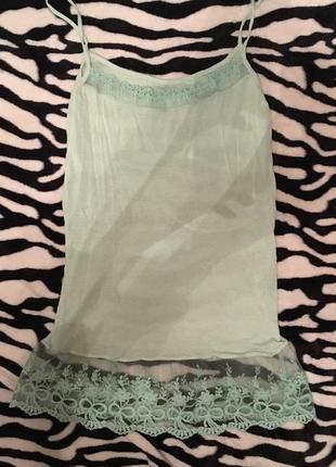 Ночнушка сеточка кружево пеньюар ночная рубашка одежда для сна