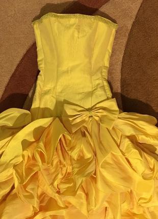 Платье платьице праздничное нарядное выпускное воланы руш руши...