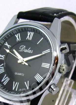 Часы dalas Годинник чорний черный