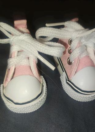 Обувь для кукл, кеды, кросы, ботинки, 5см
