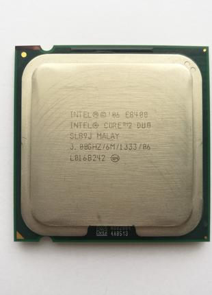 Процессор 775 Core 2 Duo E8400 2x3,0 GHz FSB 1333