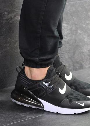 Мужские кроссовки nike (черно/белые)