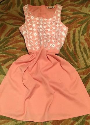 Платье сарафан миди